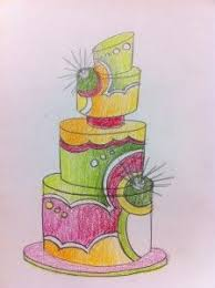 9 best cake sketches images on pinterest sketching cake ideas