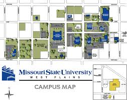 Arizona State University Campus Map by Missouri State Outreach On The West Plains Campus Off Campus