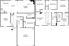 1 Storey Floor Plan by Luxurious 4 Bedroom Floor Plans 1 Story By 4 Bedro 1836x3081