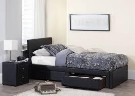 bedroom design full storage bed frame storage bed for kids sea