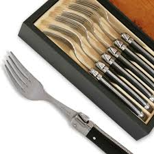 laguiole forks abs luxury black knives actiforge laguiole forks abs luxury black knives actiforge knife
