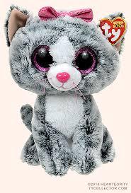 kiki medium size ty beanie boo cat