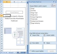 pivot tables and vlookups in excel microsoft excel for seos distilled