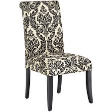 damask chair pier 1 imports angela deluxe dining chair onyx damask polyvore