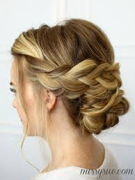 soft updo hairstyles soft braided updo