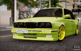 Bmw M3 Yellow Green - bmw m3 e30 for gta san andreas u2014 page 1
