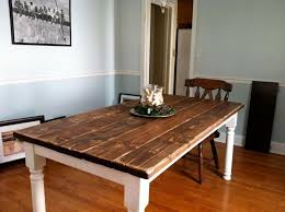 How To Build A Vintage Style Dining Room Table Yourself - Diy dining room tables