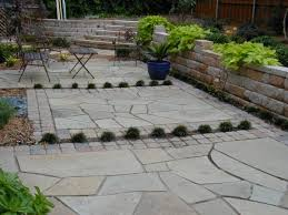 Round Patio Pavers by Wonderful Faux Stone Patio Pavers From Montclair Danby Marble