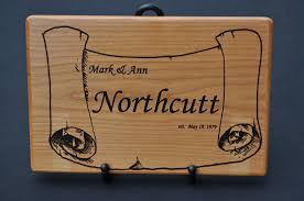 cutting board engraved personalized laser engraved cutting board markann woodcrafts