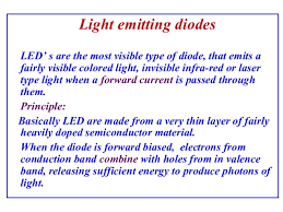 Physics Of Light Physics Of Semiconductor Devices