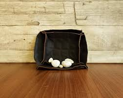 Leather Home Decor by Leather Bowl Etsy