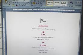 prã sentation menu mariage tutoriel menu de mariage photophore