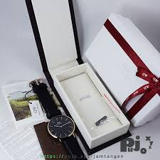 Beda Jam Tangan Daniel Wellington Asli Dan Palsu jual daniel wellington dw bm classic black 40mm sheffield rosegold