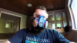 ventilation mask for painting how a beard looks with a dust mask youtube
