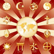 World Religions Map by World Religions Surrounding Earth Map Labels Buddhism Islam