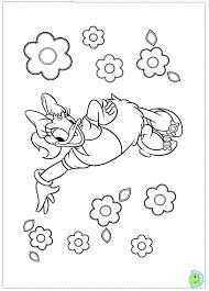 daisy coloring pages ngbasic