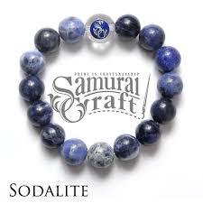 bracelet quartz images Samurai craft sodalite beads bracelet quartz natural stone stones jpg