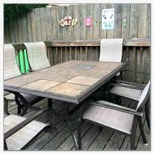 stone patio table top replacement patio table top replacement s s cheap faux stone patio table top