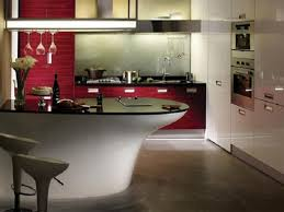 beautiful black wood stainless cool kitchen design program
