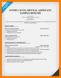 Sample Resume Dentist by 9 Dental Assistant Student Resume Studentresumesample Org