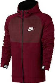 nike sweaters nike s sportswear advance 15 zip fleece hoodie s