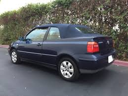 volkswagen glx used 2001 volkswagen cabrio glx at city cars warehouse inc