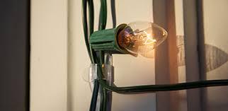 creative outdoor lights display