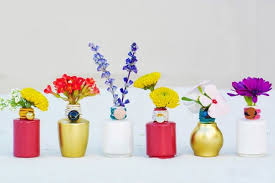 Creative Flower Vases 13 Creative Ways To Use Nail Polish Brit Co