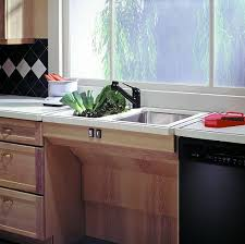 kitchen sink cabinet height approach height adjustable frame kits for cabinets sinks and cooktops