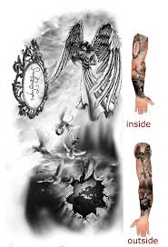 mother angel holding child tattoo design photo 2 photo