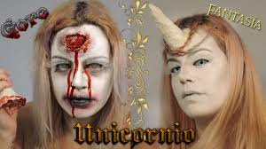 Unicorn Makeup Halloween by Maquillaje De Unicornio G 14 F 12 Unicorn Makeup Halloween Vs