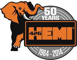chrysler logo chrysler celebreates the 50th anniversary of the hemi v8 engine