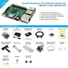 amazon com canakit raspberry pi 3 ultimate starter kit 32 gb