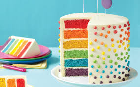cake how to how to make this deceptively easy rainbow layer cake