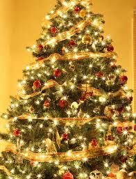 christmas tree white lights christmas decor