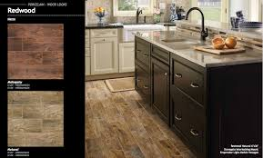 2 20sf redwood mahogany 6x24 wood plank porcelain tile