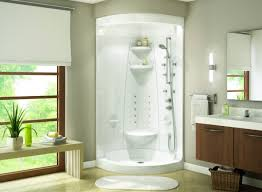 shower walk in showers for small bathrooms stunning one piece