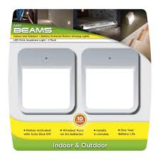 stick on lights for closets mr beams led battery operated puck light 2 pk mb722 closet ace