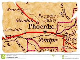 Map Of Phoenix by Phoenix Old Map Royalty Free Stock Photography Image 16696517