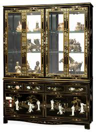 Black China Cabinet Hutch by 60