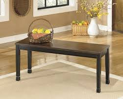 Dining Room Bench Owingsville Large Dining Room Bench D580 00 Benches Brown