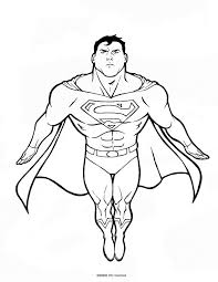 download free superman coloring pages free kids free