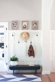 My Foyer Modern Farmhouse Entryway Makeover Before U0026 After