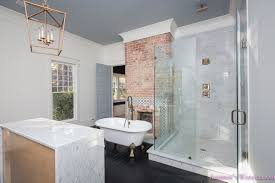 Modern Vintage Bathroom Master Bathroom Marble Wall Tile Rustic Modern Vintage Antique