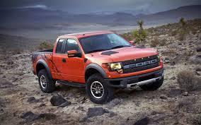 Ford Diesel Trucks Mudding - fords orange raptor off roading ford svt raptor trucks