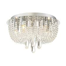 Quoizel Flush Mount Ceiling Light Shop Quoizel Chateau 13 8 In W Polished Chrome Flush Mount Light