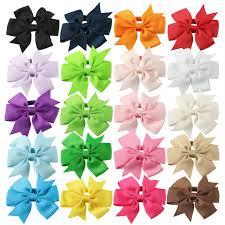 3 grosgrain ribbon 20pcs lot 3 grosgrain ribbon swllowtail bows with elastic