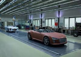 audi e spyder building the audi e spyder autoevolution