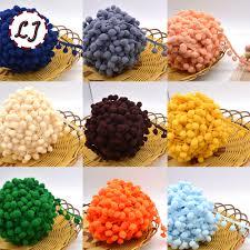 popular decorative elastic trim buy cheap decorative elastic trim hot sale 5yd lot 25mm width colorful pp ball elastic lace ribbon tassel trim sewing