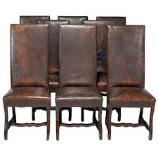 Dining Room Chairs With Casters And Arms Dining Room Chair Leather Deptrai Co